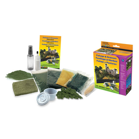 Scene-A-Rama™ Foliage and Grasses Kit
