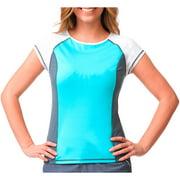 Women's Sporty Rash Guard Swimsuit Top