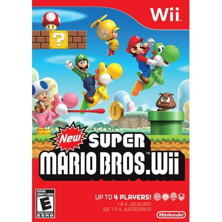 Nintendo Wii - New Super Mario Bros.](Party City Mario Bros)