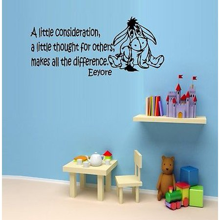 Eeyore Wall (A Little Consideration : Popular Character ~ Eeyore: Wall Decal 13