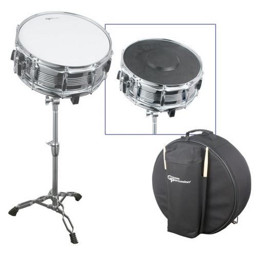 Groove Percussion Student Snare Drum Set by