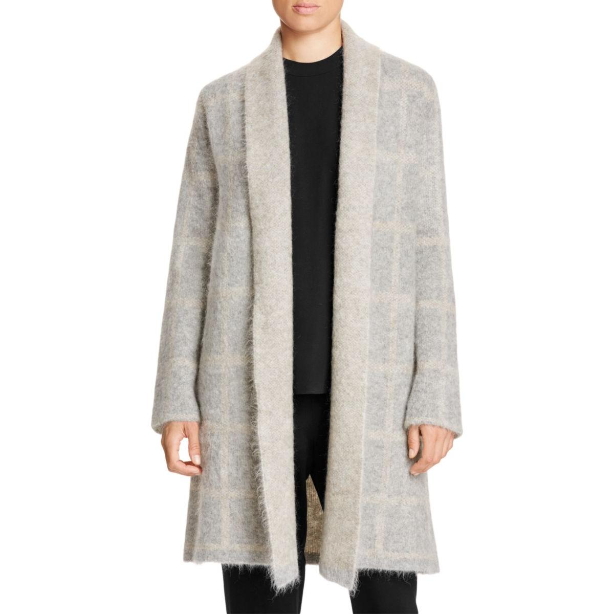 Eileen Fisher Womens Wool Textured Coat by Eileen Fisher