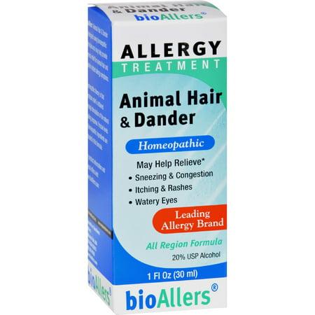 Bio Allers Animal Hair And Dander   1 Fl Oz