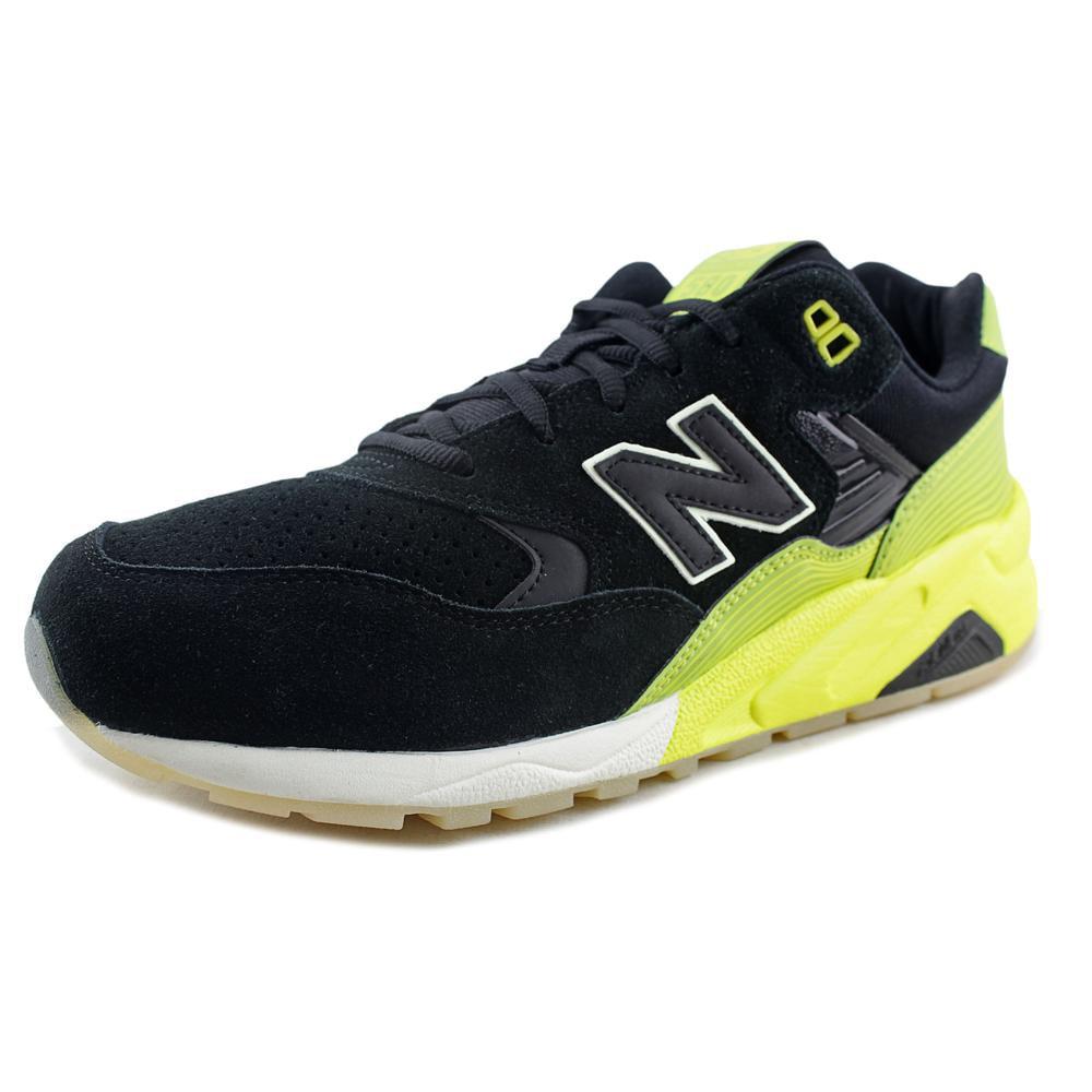 New Balance MRT580 Round Toe Suede Running Shoe by New Balance