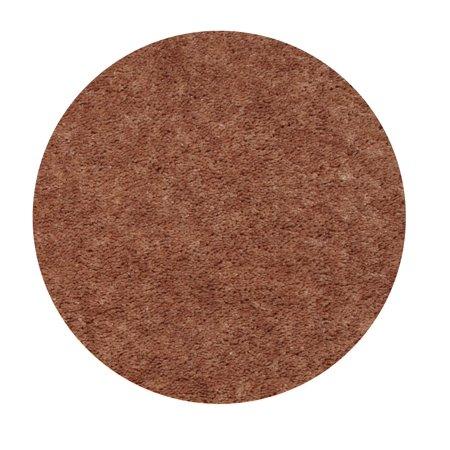 Home Queen Solid Color Brown 5' Round - Area Rug