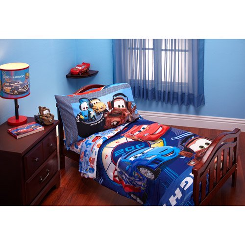 Cool Disney Cars Max Rev piece Toddler Bed Bedding Set