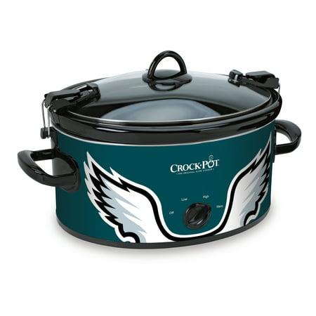 Crock-Pot NFL 6 Quart Philadelphia Eagles Slow Cooker