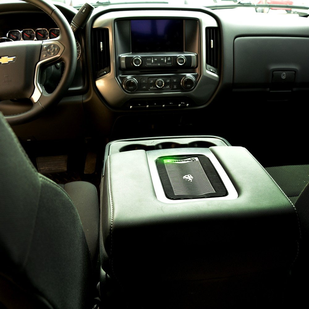 BRANDMOTION FDMC-1270 SILVERADO (WITH BENCH SEATS) WIRELESS CHARGING KIT