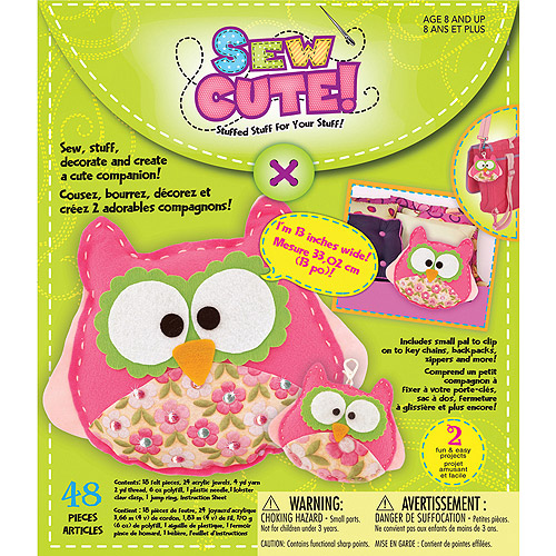 Sew Cute Craft Box Kit, Owl