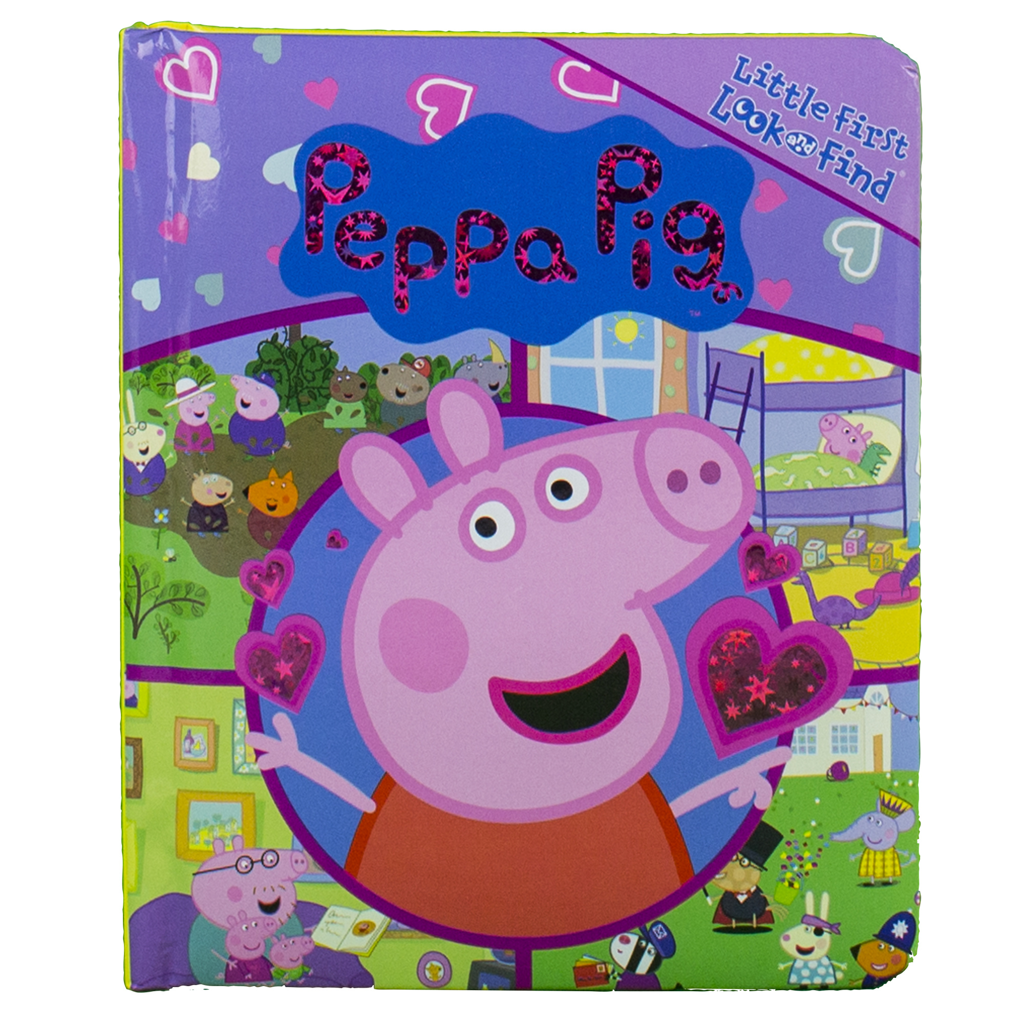 Find Board look and find: peppa pig (board book) - walmart