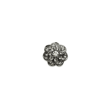 Swirl Rhinestone Buttons - Expo Int'l 1