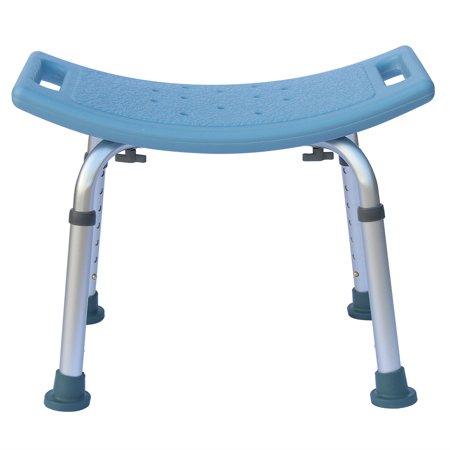 UBesGoo Extra Wide Heavy Duty Bariatric Bath Bench Shower Chair Seat Blue Deluxe Bariatric Bath Bench