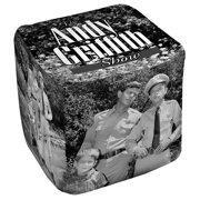 Andy Griffith Lawmen Cube(Ottoman) White 18X18X18