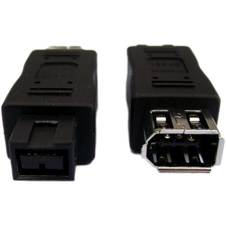 Professional Cable FireWire 900 to 400 Adapter, 9-Pin Male to 6-Pin Female