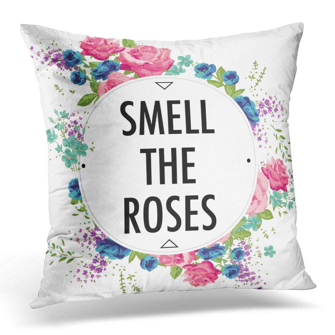 ARHOME Black Girl Rose Slogan Other Uses in Teen Pillow Case Pillow Cover 20x20 inch