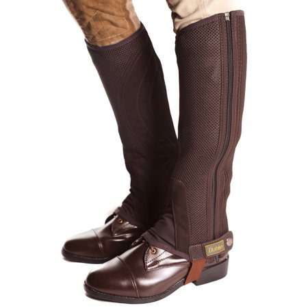 - Dublin Easy Care Mesh Horse Riding Half Chaps