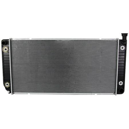 K2500 Suburban Radiator (RADIATOR ASSEMBLY FITS GMC 95-98 C1500 C2500 K1500 K2500 SUBURBAN YUKON 5.7L V8 2547 52491626 GM3010235 2422 CU1693)
