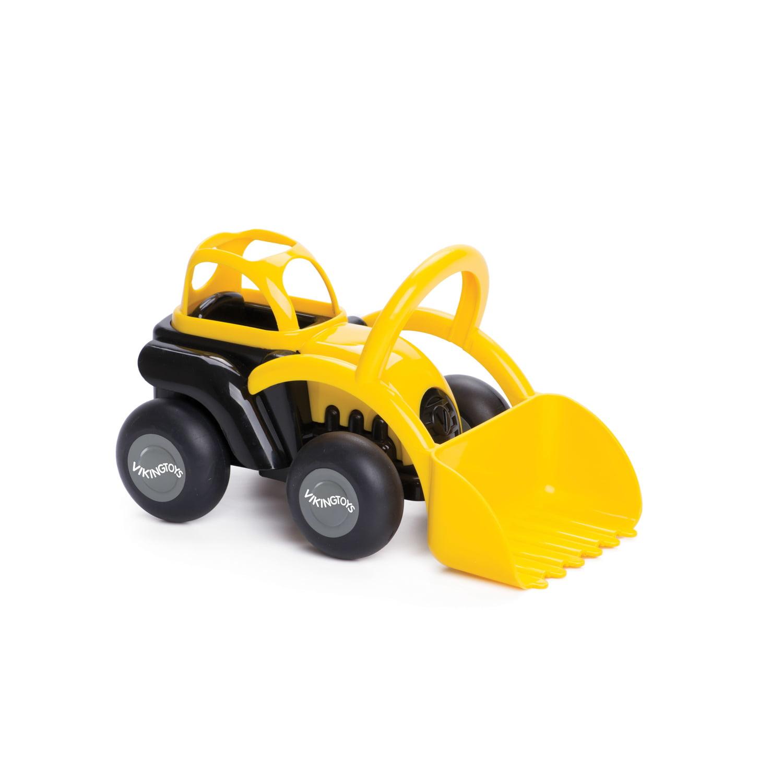 "International Playthings Viking Toys 8"" Black and Yellow Tractor by International Playthings"