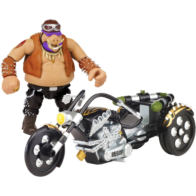 Teenage Mutant Ninja Turtles Movie 2 Out Of The Shadows Bebop With Trike Vehicle With Figure