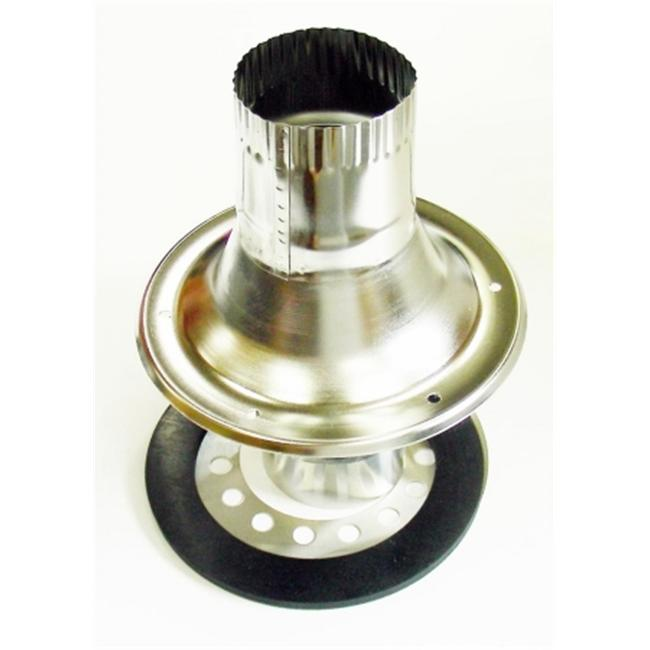 Dickinson Marine 17-050 4 inch Deck Fitting with Dress Ring