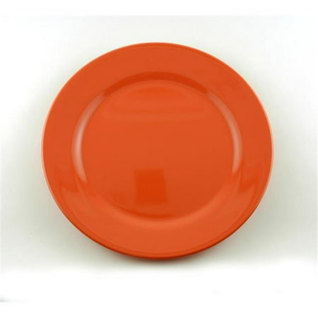 Galleyware AG 1234-4 Solid Color Melamine Non-skid 10 in. Dinner Plate - Set of (Non Skid Plates)
