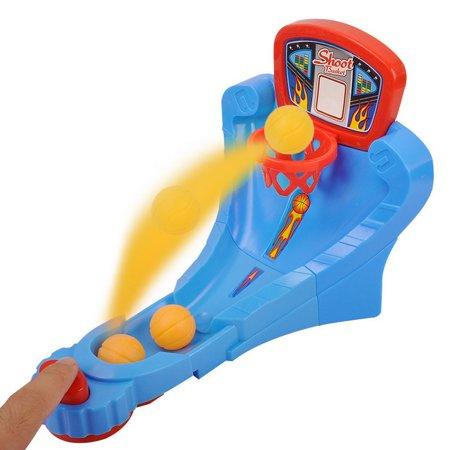 Desktop Crazy-shoot Hoop Mini Basketball Game Toy, Random Color -