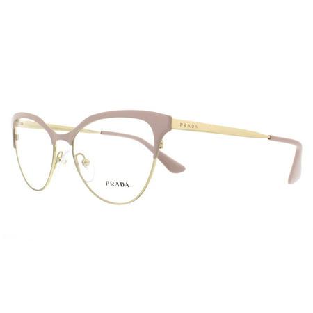 9d560aa8afa1 PRADA Eyeglasses PR 55SV UF51O1 Pink/ Pale Gold 52MM - Walmart.com