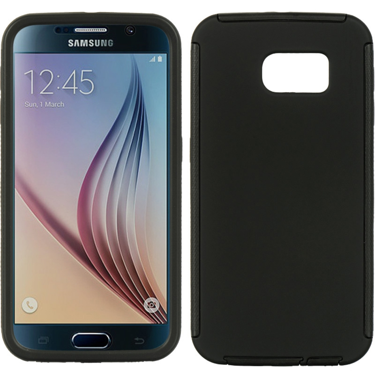 Samsung Galaxy S6 Case, by Insten Wrap Up TPU Rubber Candy Skin Case Cover With Screen Protector For Samsung Galaxy S6 SM-G920