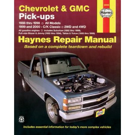 Chevrolet and GMC Pick-Ups (1988-2000) (Agent Pickup In Transit To Ups Facility)