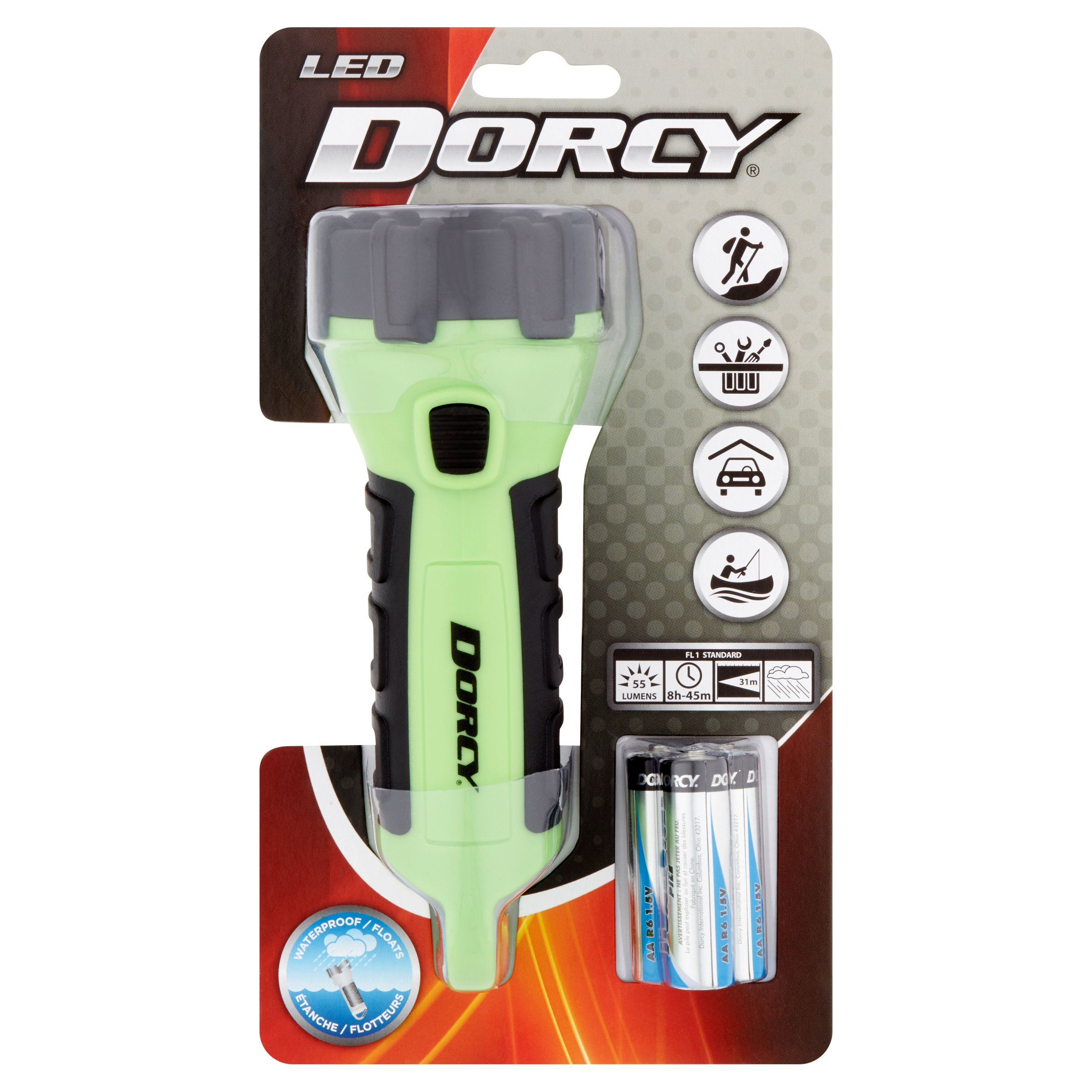Dorcy LED 55 Lumens Flashlight