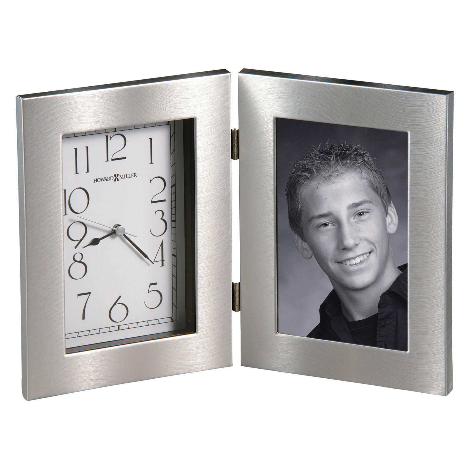 Howard Miller 645-677 Lewiston Picture Frame Desktop Clock by Howard Miller