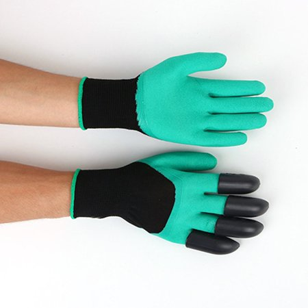 Gardening Gloves for Garden Digging Planting with 8 Claws Protection Gloves - image 10 of 11