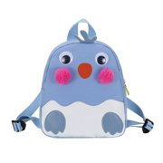 yilovego Kids Kindergarten Backpack Girl Boys Cartoon School Bags Satchel (Blue)