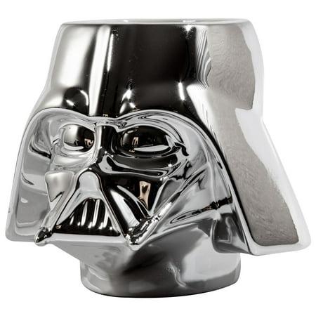 StarWars Collectible | Star Wars Darth Vader Mug | Chrome Molded - Darth Vader Cut Out