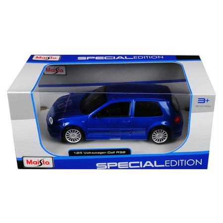 Volkswagen Module - Volkswagen Golf R32 Blue 1/24 Diecast Model Car by Maisto