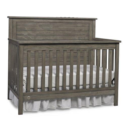 Fisher Price Quinn 4 In 1 Convertible Crib Vintage Gray Walmart Com