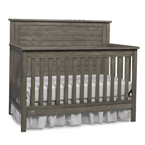 Fisher-Price Quinn 4-in-1 Convertible Crib, Vintage Gray
