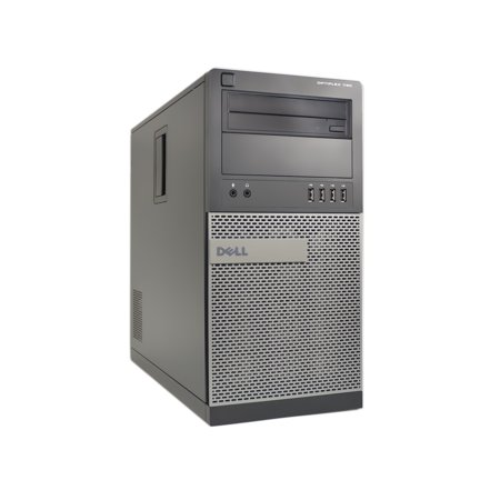 Refurbished Dell 790-T Desktop PC with Intel Core i5-2400 3.1GHz Processor, 8GB Memory, 256GB SSD, and Win 10 Pro (64-bit) (Monitor Not Included)