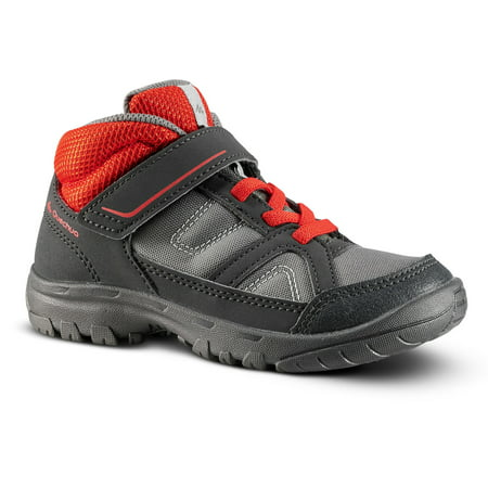 Decathlon - Quechua MH100, High-Top Hiking Shoes, Kids'