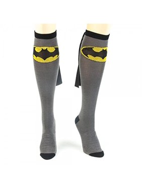 bddf0a542 Product Image Bioworld DC Comics Batman Adult Knee High Caped Sock