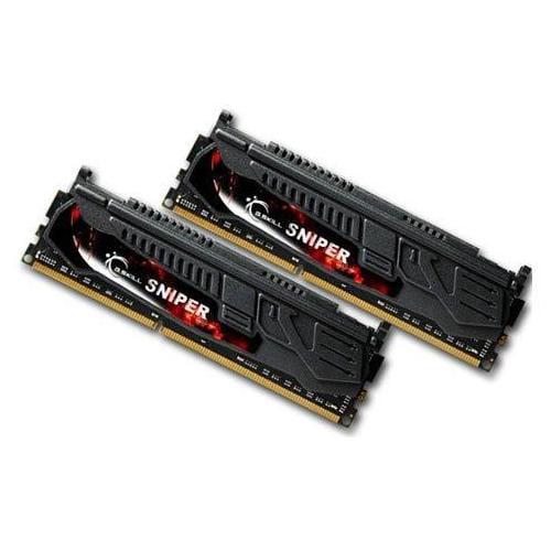 G.SKILL Sniper 8GB (2 x 4GB) 240-Pin DDR3 SDRAM DDR3 1333 (PC3 10666) Desktop Memory Model F3-10666CL9D-8GBSR
