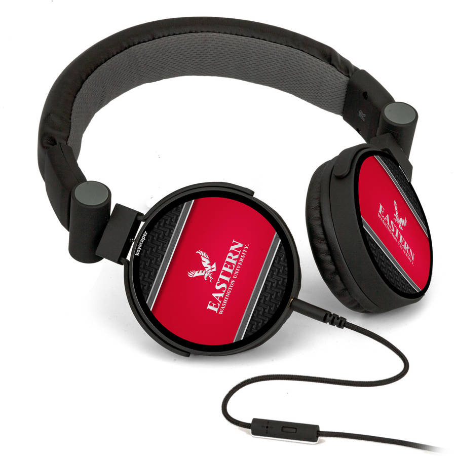 Eastern Washington Eagles DJ-Style Headphones