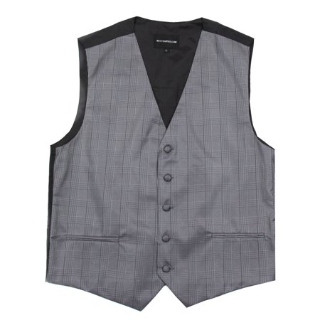Men's Plaid Dress Vest for Tuxedo and Suit Proms and Weddings - Prom Suit