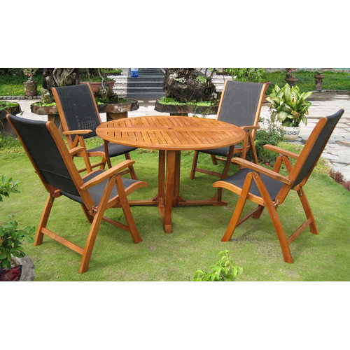 International Caravan Royal Tahiti Santiago Patio Dining Set