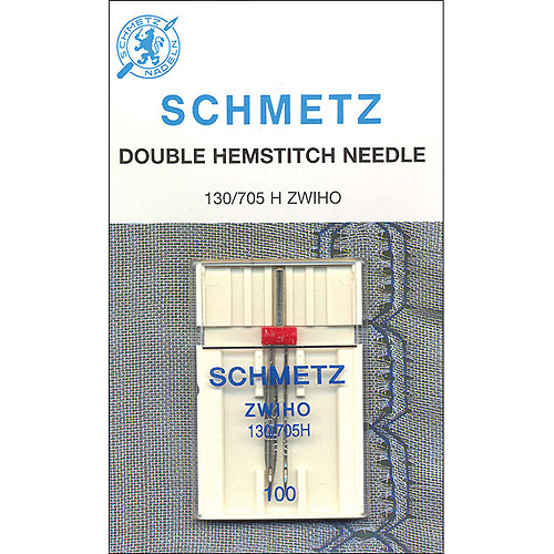 Euro Notions Double Hemstitch Needle