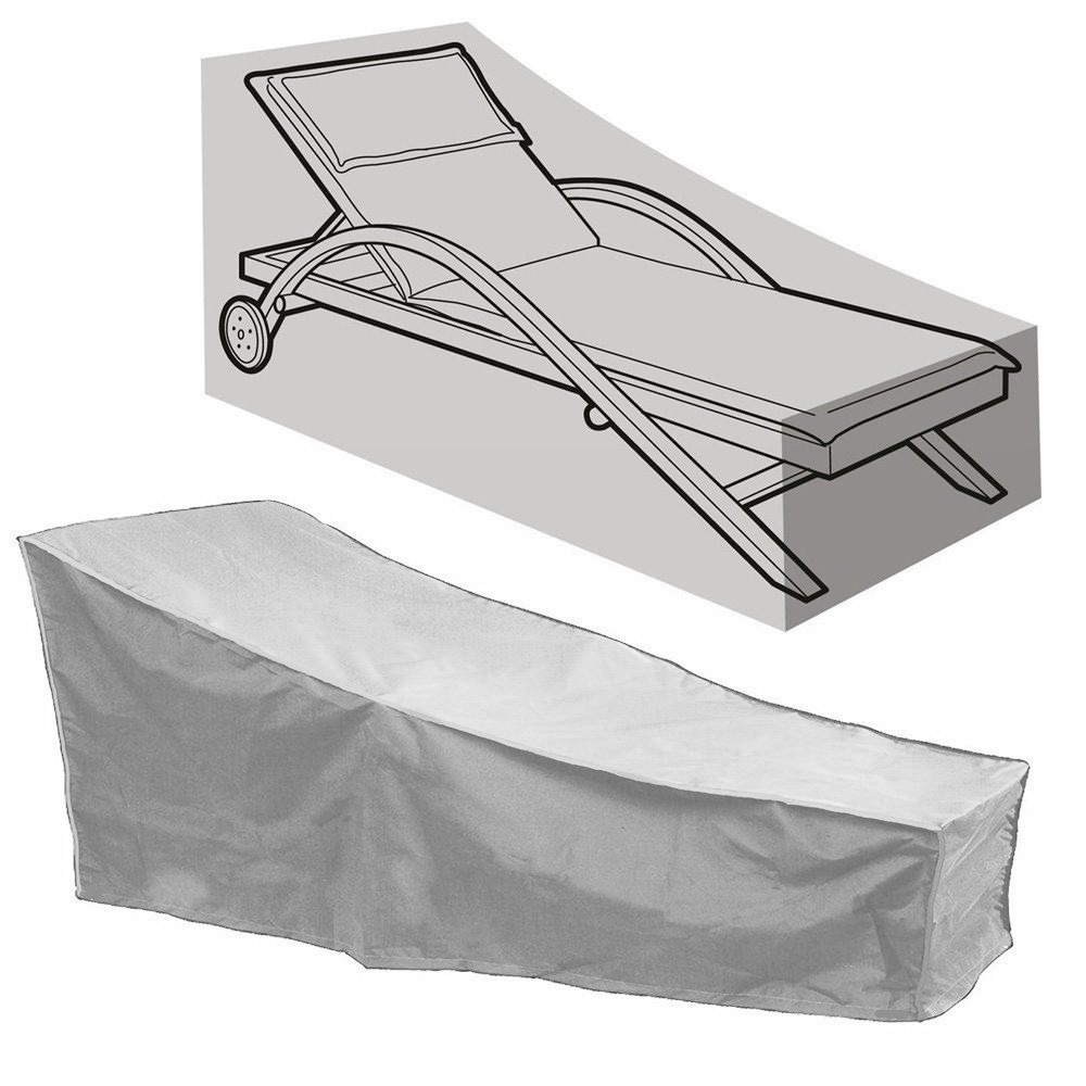 82/'/' Outdoor Waterproof Chaise Lounge Chair Covers Patio Furnitur