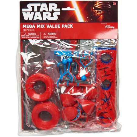 Star Wars Episode VII: The Force Awakens Party Favor Pack, Value Pack, Party Supplies