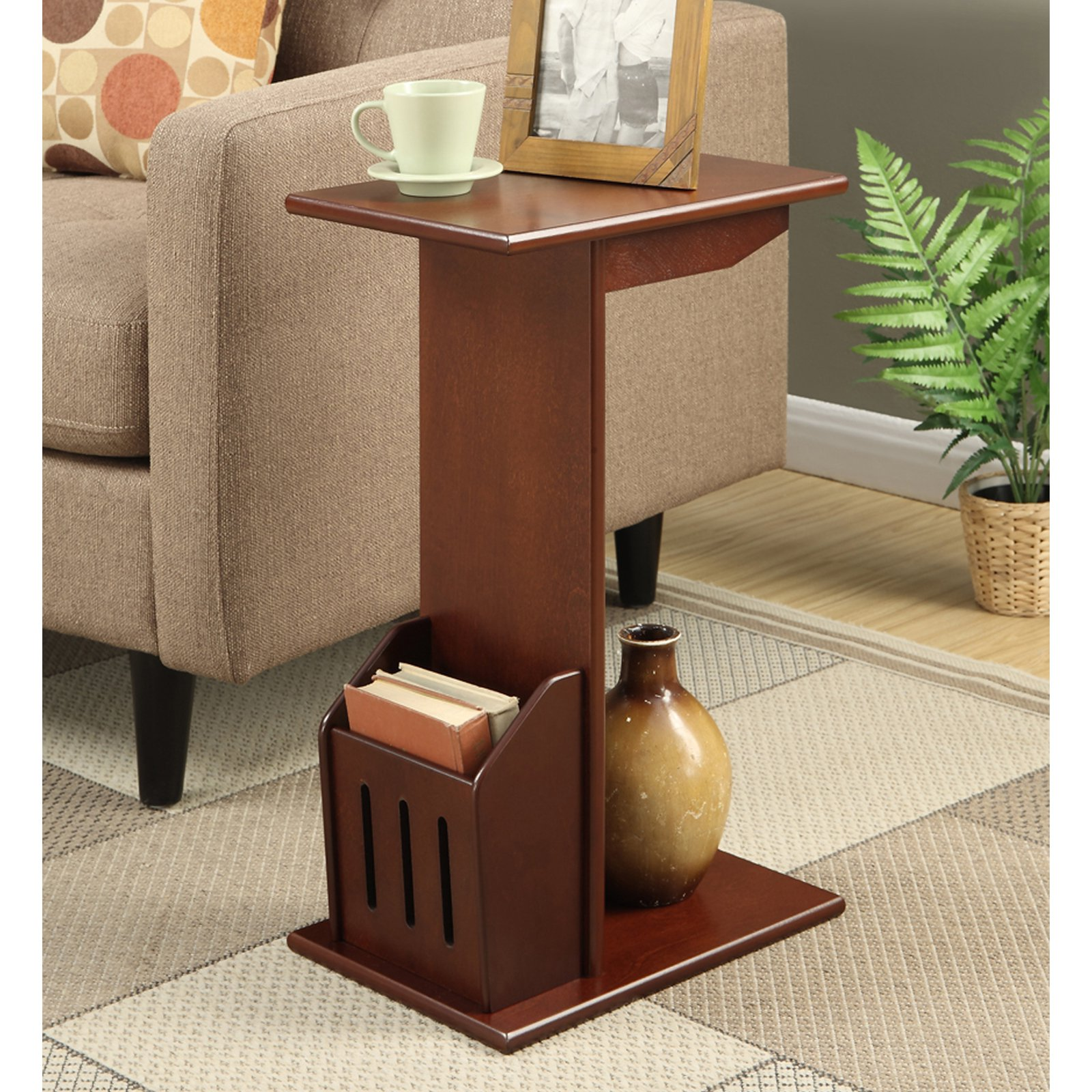 Convenience Concepts Designs2Go Abby Magazine C End Table by Generic