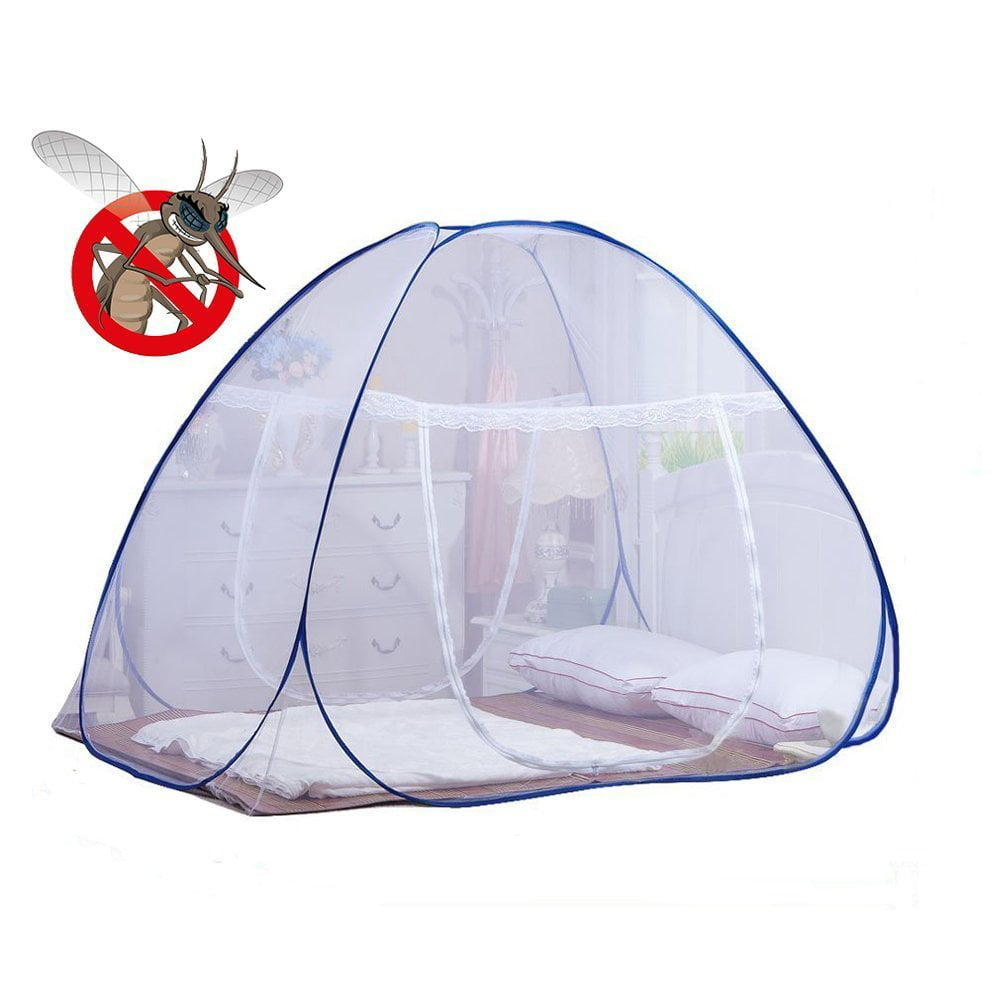 DmsBanga 2017 New Fashion Camping Mosquito Out Net for Bed Pop Up Nursery Guard Tent Folding Bottom Moustiquaire Canopy... by