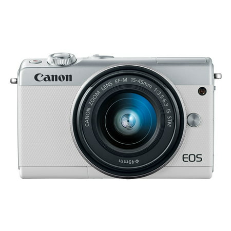 Canon EOS M100 Mirrorless Digital Camera with 15-45mm Lens (Best Selling Mirrorless Camera)